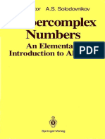 I.L. Kantor, A.S. Solodovnikov-Hypercomplex Numbers_ an Elementary Introduction to Algebras (1989)