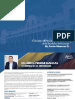 Gabinete Ministerial de Lenin Moreno