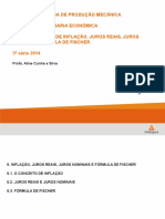 Aula 5 - Juros Reais, Nominais e Fórmula de Fischer (Ok)