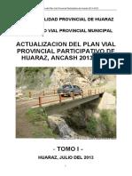 Pvpp Huaraz 2014 2023 (Tomo i Informe Final Abril 2014)