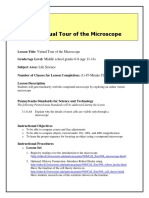 506 Lesson 1 Virtual Tour of the Microscope