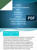 Presentation UMKM (PPT)