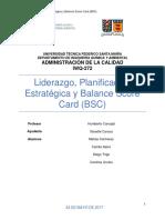 Grupo6 10LiderazgoPlanificación Estratégica y Balance Score Card