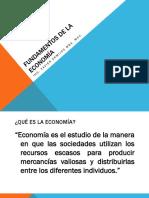 1. Funadmentos de La Economía
