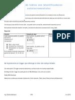 Secuencia y Folios en Tablas Oracle 11g