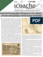 El Tlacuache.El Cartografiar del espacio y la cultura. El valor antropológico de los mapas virreinales. Morelos, INAH, Nro 723,24 Abril 2016.