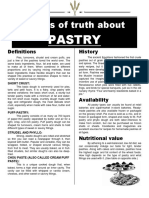 Pastry and Bakery