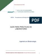 Extracción de ADN, Cuantificación y Electroforesis