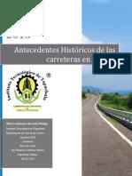 Antecedentes Historicos de Las Carreteras en México