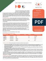 MINTEC - Cartonboard Factsheet