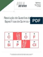 Vaiterespecifica Aulaaovivo Quimica Resolucao Provas Especificas 1-07-11 2016