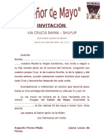 INVITACIÓN via Crucis