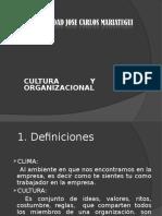 4. Clima y Cultura Organizacional