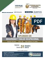 Brochure Seguridad y Salud Ocupacional
