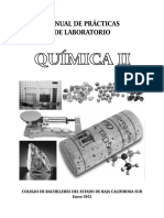Manual de Practicas de Laboratorio Quimica II