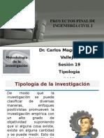 19 Sesión - Tipología