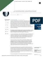 Paz y Sustitución Constitucional - Columnistas - Opinión - ELTIEMPO