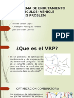 Problema de Enrutamiento de Vehiculos- Vehicle Routing Problem
