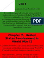 unit 4 chapter 2 united states involvement in world war ii