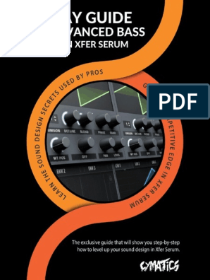 serum synth manual pdf