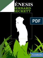 Bernard Beckett - Génesis