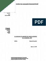 La Estructura de Propiedad Del Capital Extranjero en La Argentina. 1974