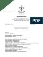 Undang Undang Kecil Pahang