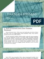 FARMASI KESMAS teori