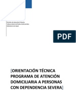 Orientacion tecnica programa de atencion domiciliaria a personas con dependencia severa. MINSAL Chile 2014 (2).pdf