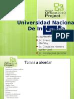 Project 2010 Uni