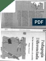 Pedagogia diferenciada Perrenoud.pdf