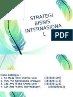 Strategi Bisnis Internasional