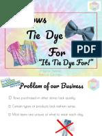 bows tie die for sy15 businessplanpresentation patricia eusantos   allyssa suarez