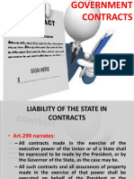 13 Government Contracts