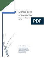 Manual de La Organización