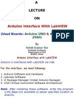 Labview Interface With Arduino Uno Arduino Mega by s k Rai