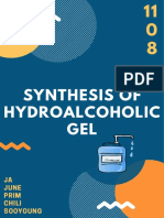 synthesis of hydroalcoholic gel
