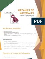 Mecánica de Materiales- Capítulo 1