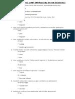 Feedback Survey 2014(UL Students) (1)