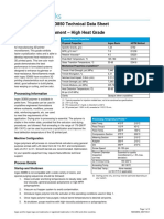 TechnicalDataSheet 3D850 Monofilament PDF