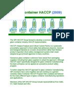 GPI HACCP Workbook