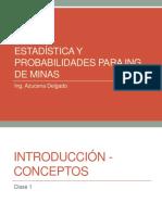 Estadística y Probabilidades Para Ing