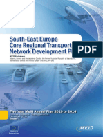 SEETO 2009, South-East Europe Core Regional Transport Network Development Plan. Five Year Multi Annual Plan 2010 to 2014. Common problems - Sharing solutions, December 2009, Volume 1.pdf