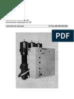 3AC. Manual Interruptor Poco Volumen de Aceite
