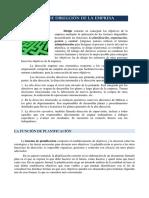 El Proceso de Direccin de La Empresa Octubre 2011