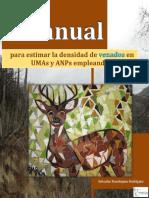 Manual para estimar la densidad de venados en UMAs y ANPs empleando PELLET