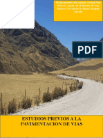 Mejoramiento Del Camino Vecinal San Marcos
