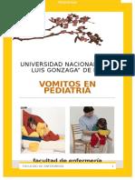Vomitos en Pediatria