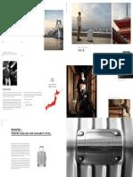 Rimowa Catalogue 2016-2017 Uk
