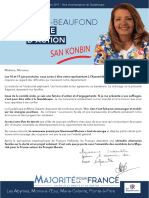 Document Projet Alix Huyghues-Beaufond - Législatives 2017 - Guadeloupe